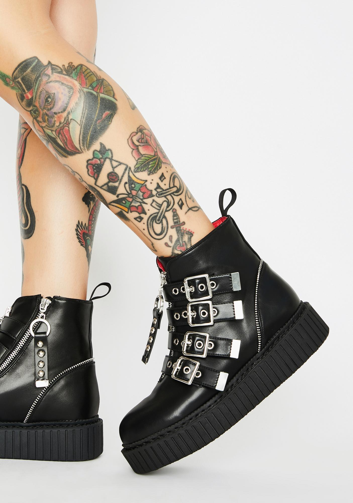 Lamoda Hold On Buckle Boots