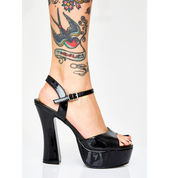 Demonia Midnight Hexin' My Ex Platform Heels