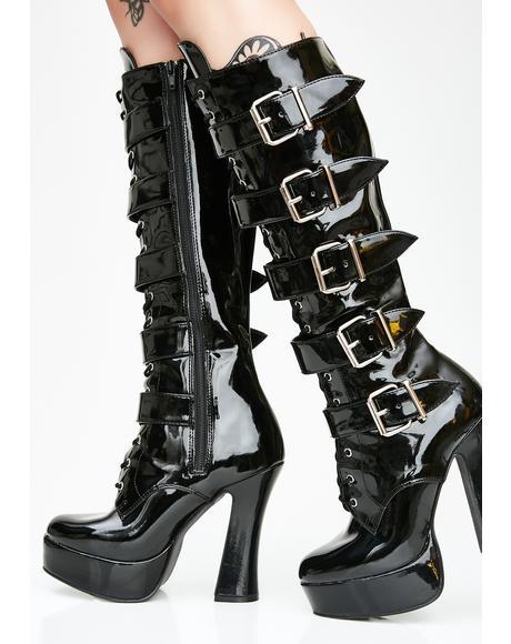 Wild Antics Platform Boots