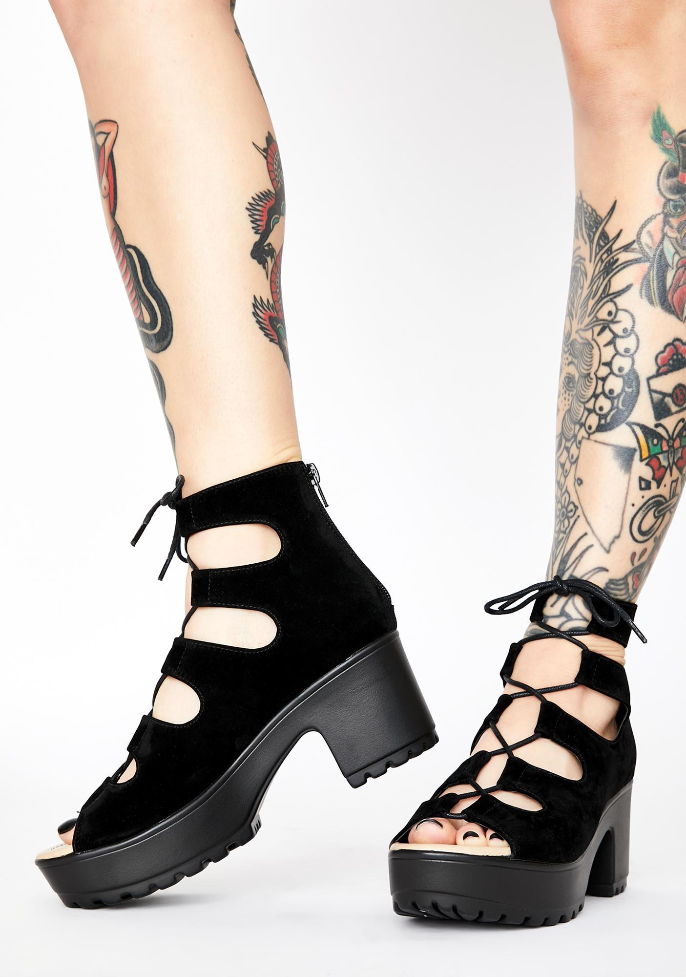 Koi Footwear Delo Lace Up Sandals