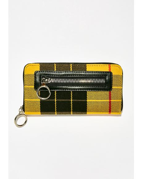 Pay To Play Plaid Wallet