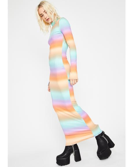 Sherbet Sundaze Tie Dye Maxi Dress