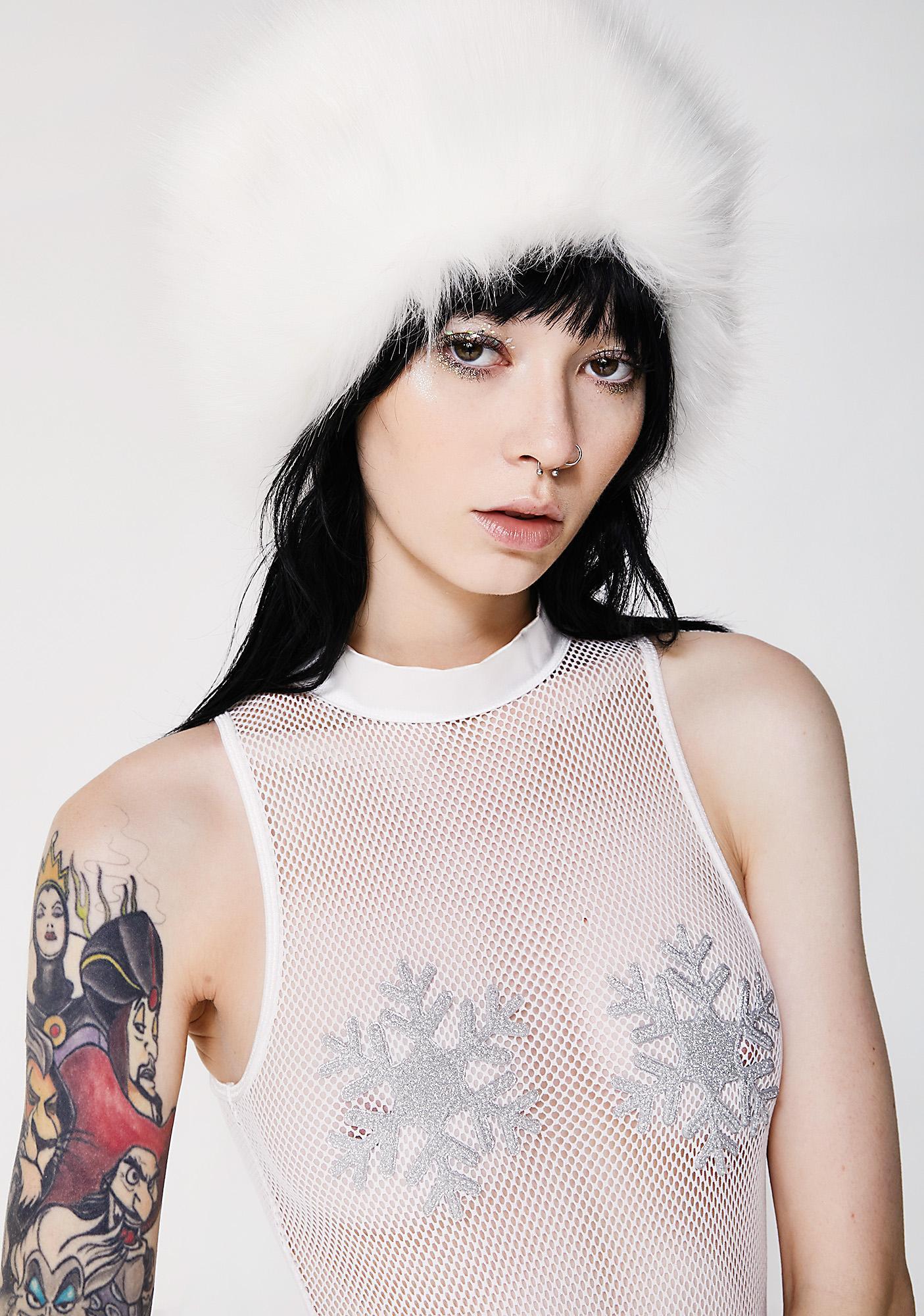 Club Exx Sugarplum Fairy Mesh Bodysuit