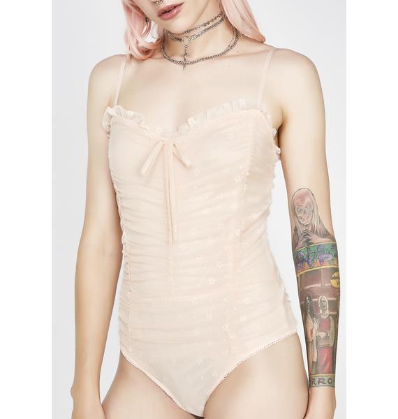 Frills N Thrills Lace Bodysuit