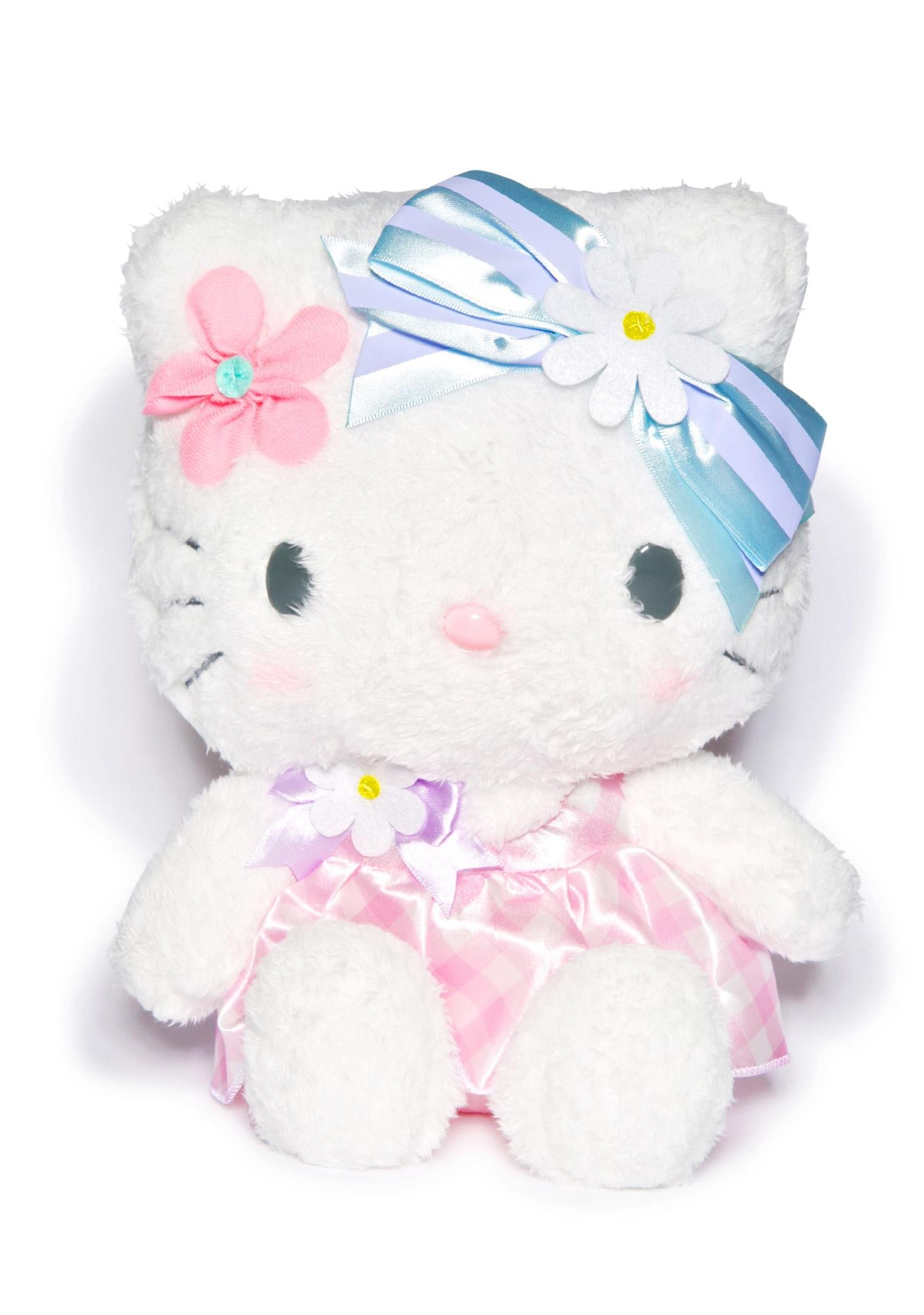 Sanrio Flower Hello Kitty Plushie