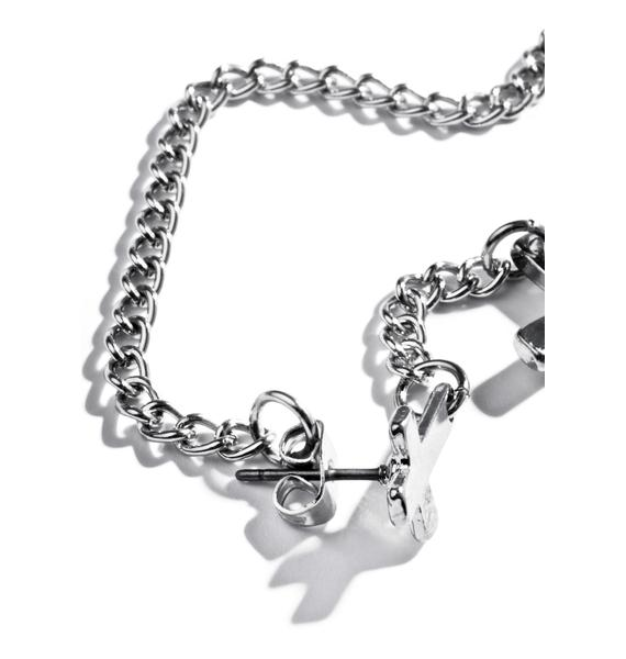 Ritual Chained Earrings