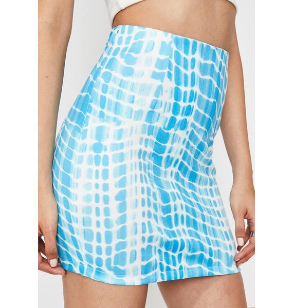 Berry Rich Grl Mini Skirt
