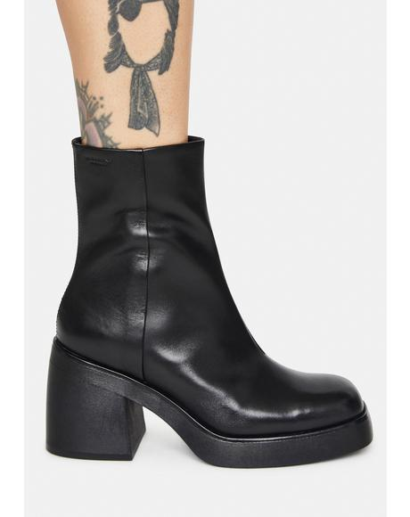 Brooke Platform Booties