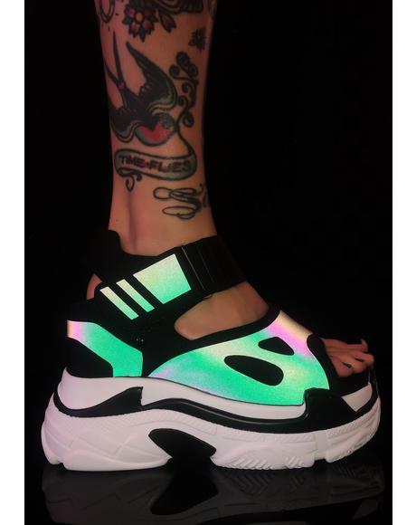 Itz Litt Platform Sandals