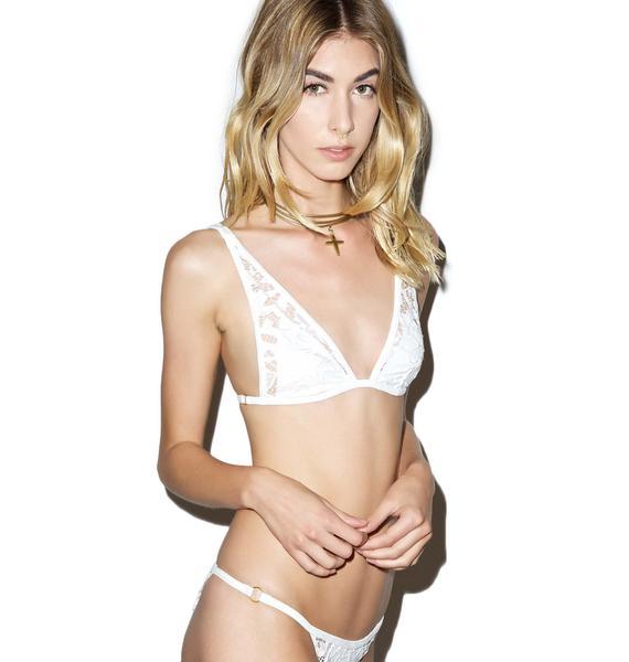 Somedays Lovin Coco Lace Bikini Top