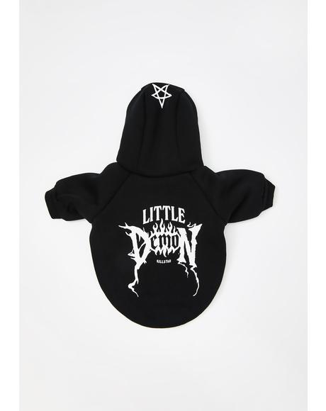 Demon Dog Hoodie Sweatshirt
