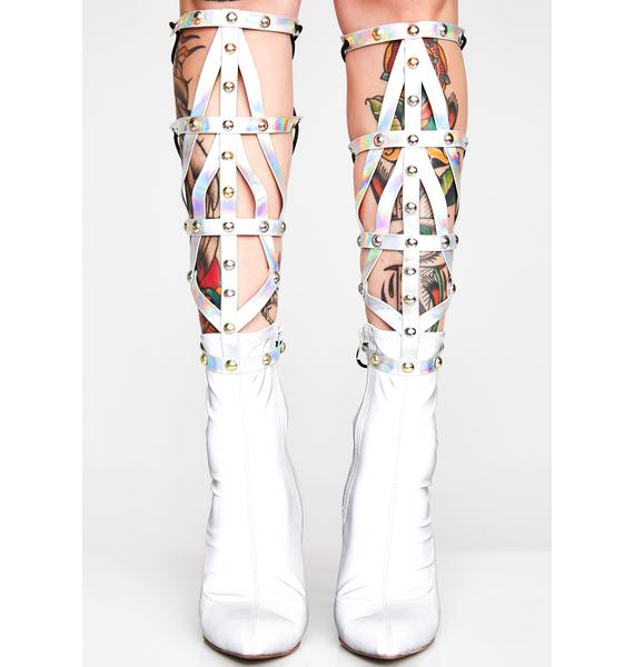 Galactic Guardian Caged Leg Wraps