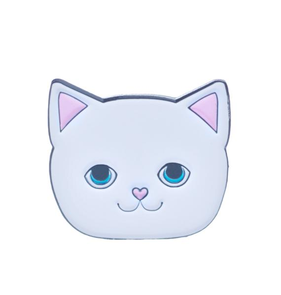 Local Heroes Cat Face Pin