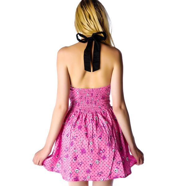Hell Bunny Perky Mini Halter Dress