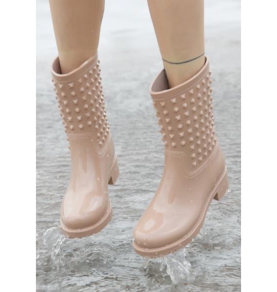 Nova Studded Rain Boots