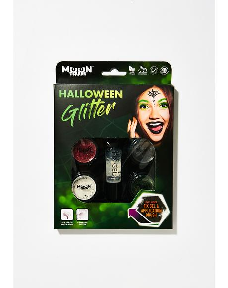 Halloween Glitter Shakers Box Set