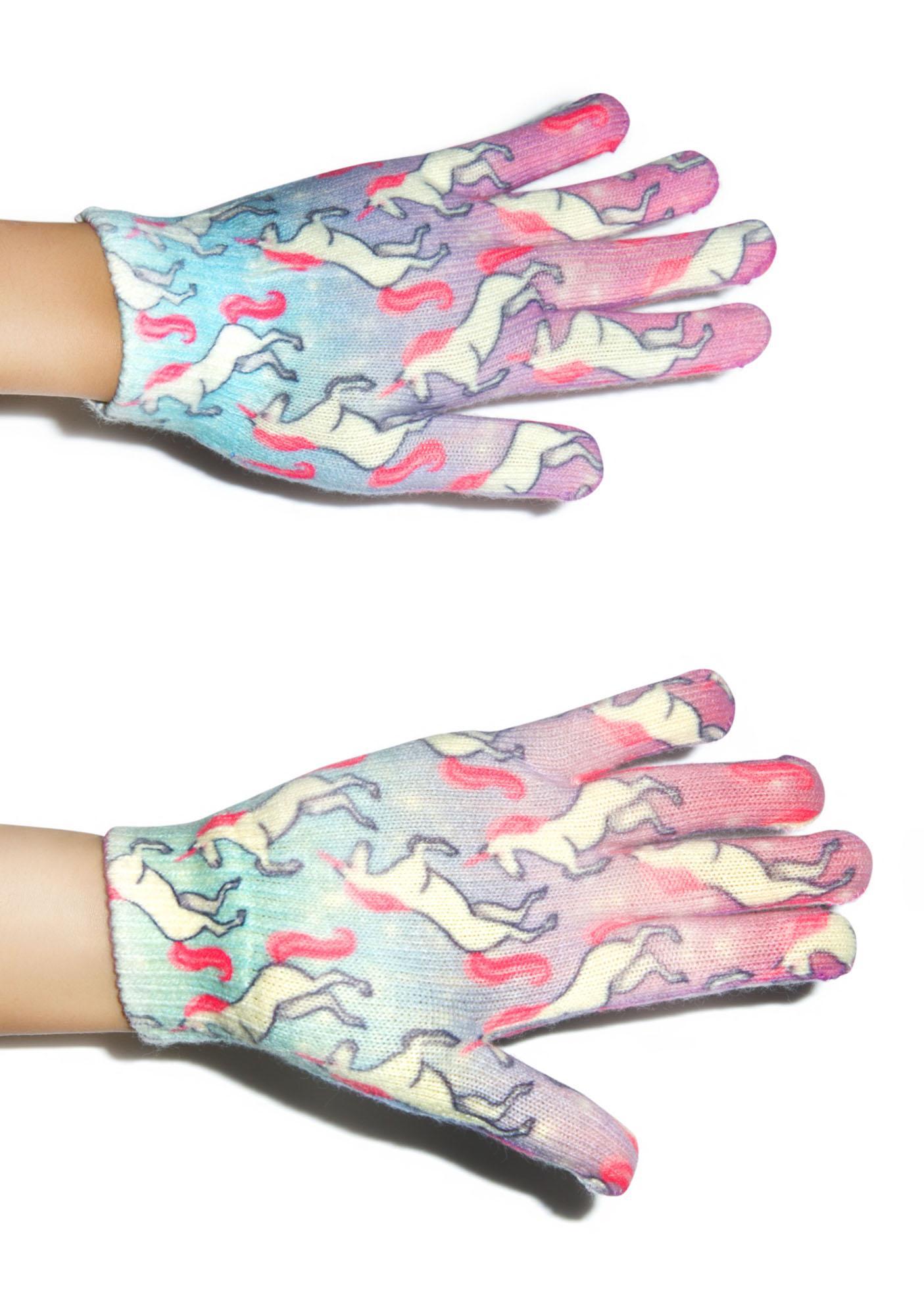 Unicorn Dreams Gloves