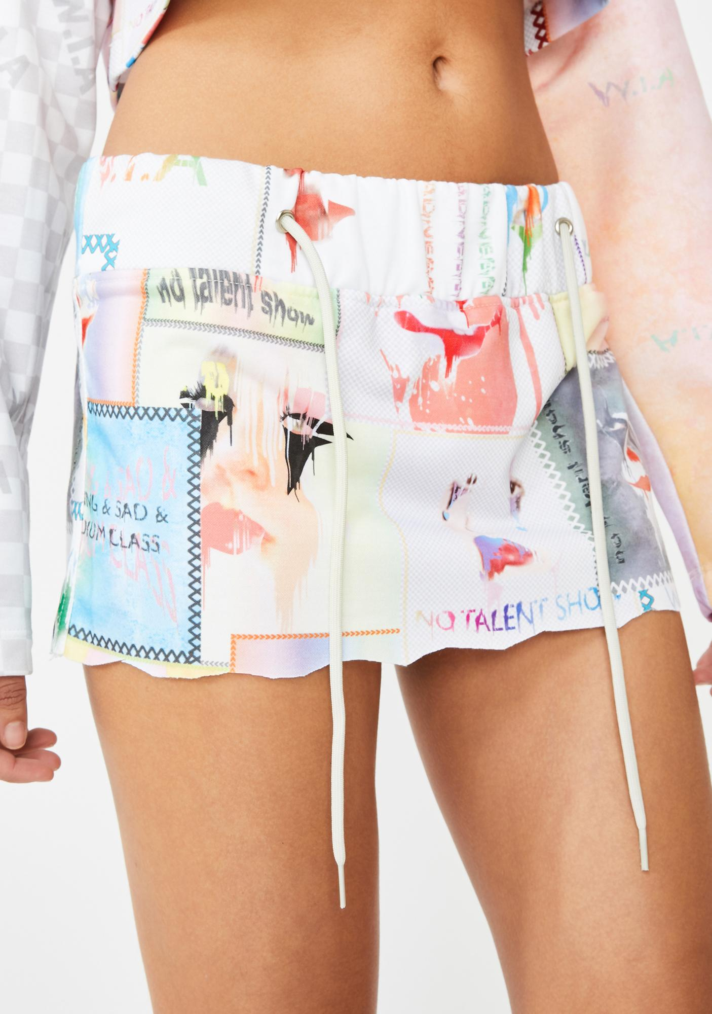 W.I.A Fun Fair Mini Skirt