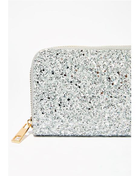 Silver Sprinkle Da Glam Wallet