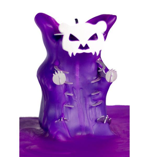 Skeleton Gummiez Candle