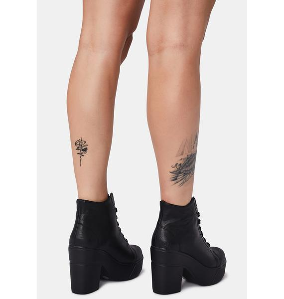 Dirty Laundry Campus Queen Booties