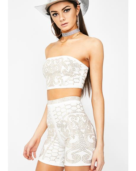 Snow Rowdy N' Reckless Bodycon Set