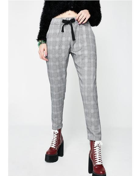 You Heard Me Plaid Pants
