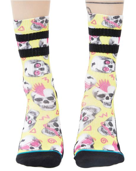 Skeletron Socks