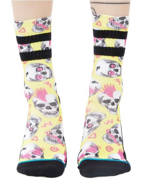 Skeletron Socks