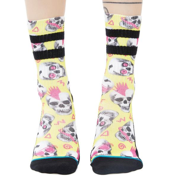 Stance Skeletron Socks