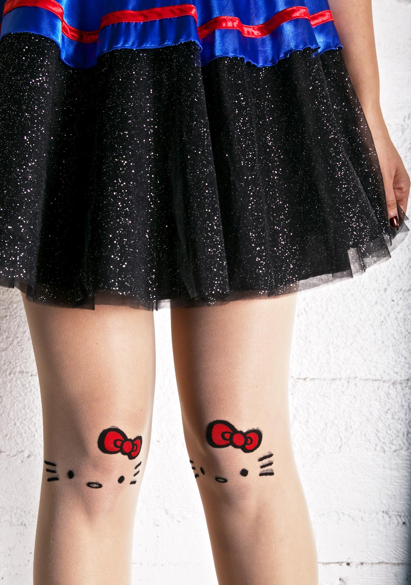 Hello Kitty Tattoo Tights