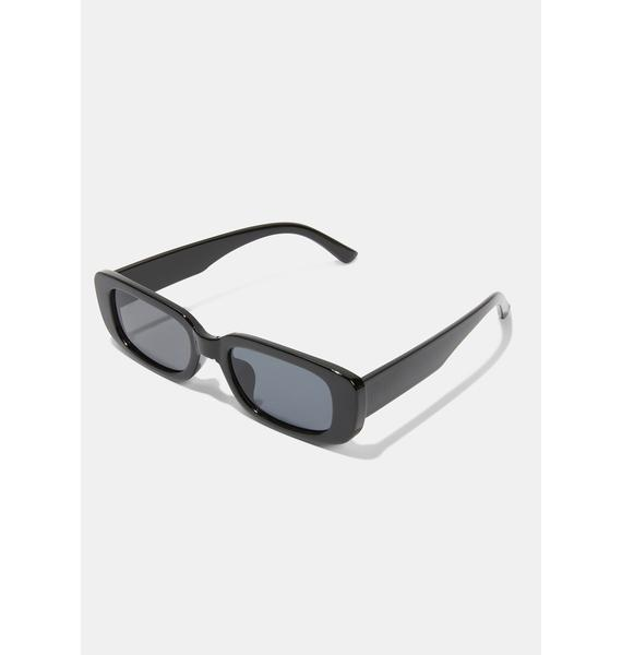See The Truth Square Sunglasses
