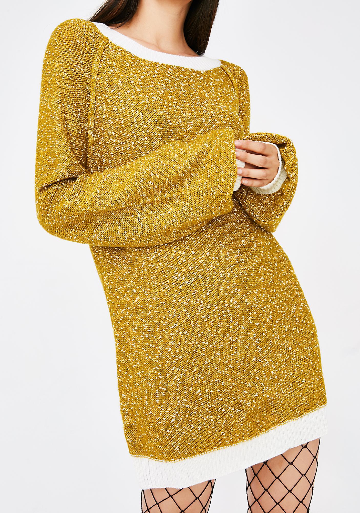 Honey Trap Sweater Dress