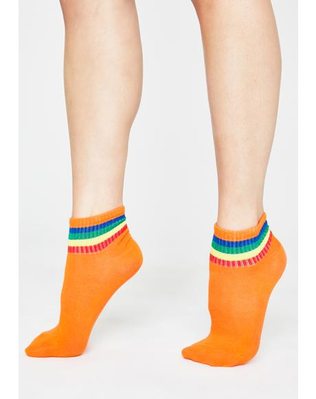 Ova The Rainbow Ankle Socks