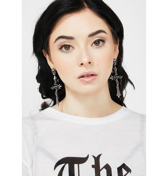 Killstar Serpentine Earrings