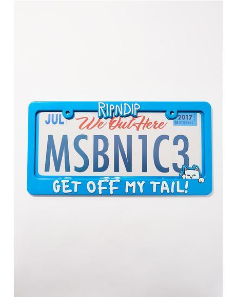 Tailgater License Plate Frame