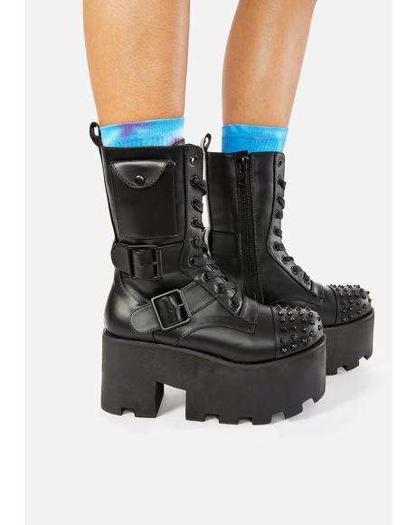 Blackout Combat Boots