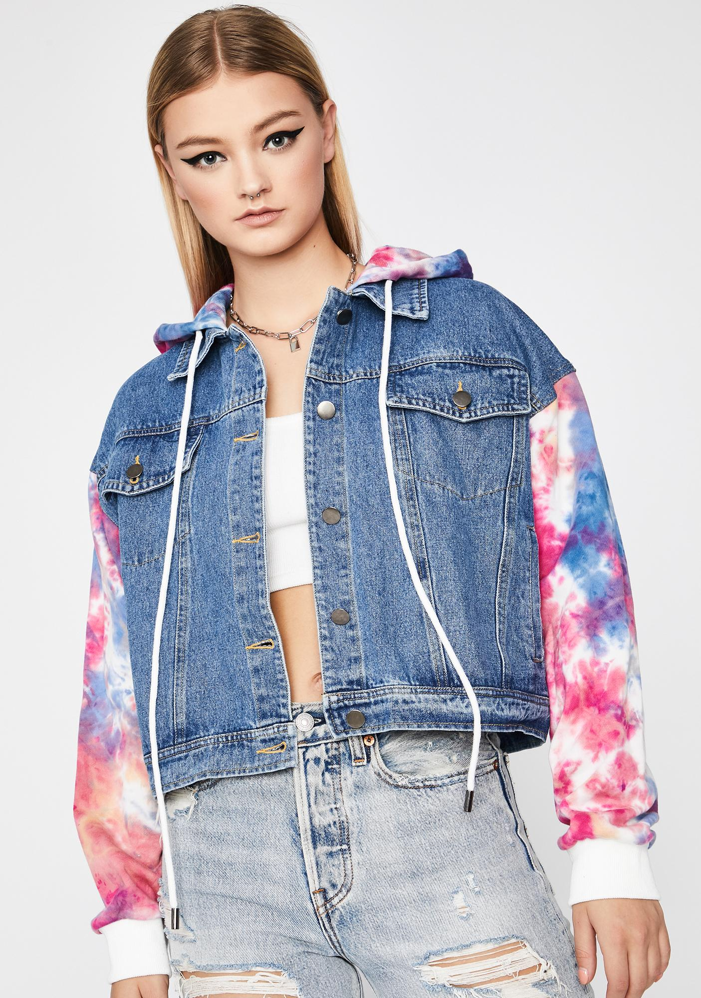 Time To Chill Denim Jacket