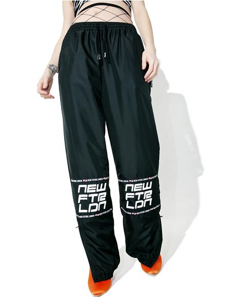 Racer Logo Sweat Pants