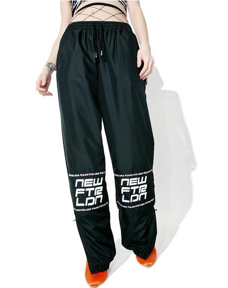 Racer Logo Sweat Pants
