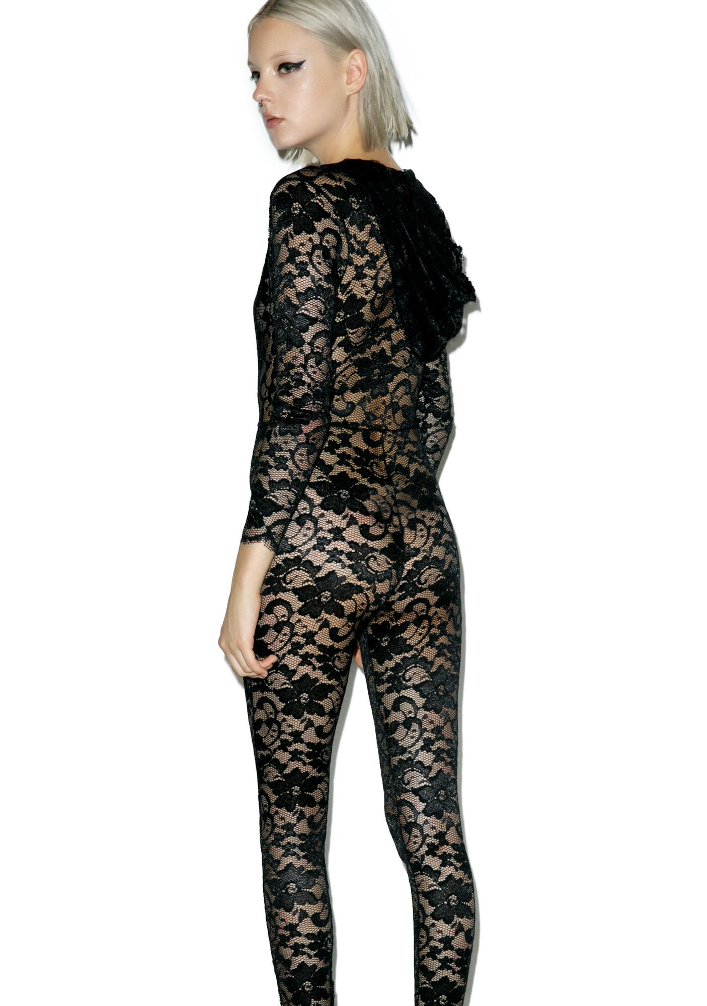 Missing U Lace Jumpsuit
