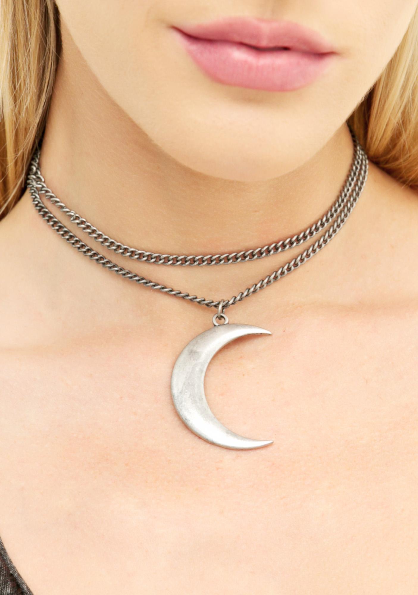 Dark Moon Necklace
