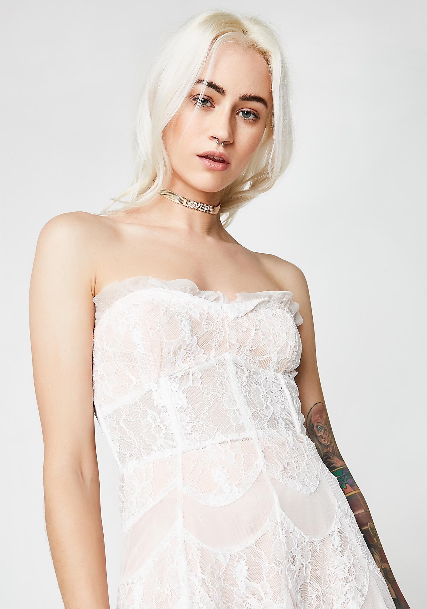 For Love & Lemons La Bella Midi Dress