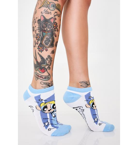 Crazy Mixed Up Puffs Ankle Socks Set