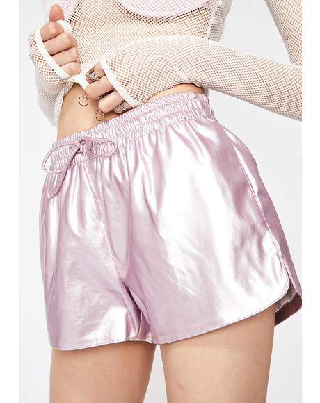 Interstellar High Metallic Shorts