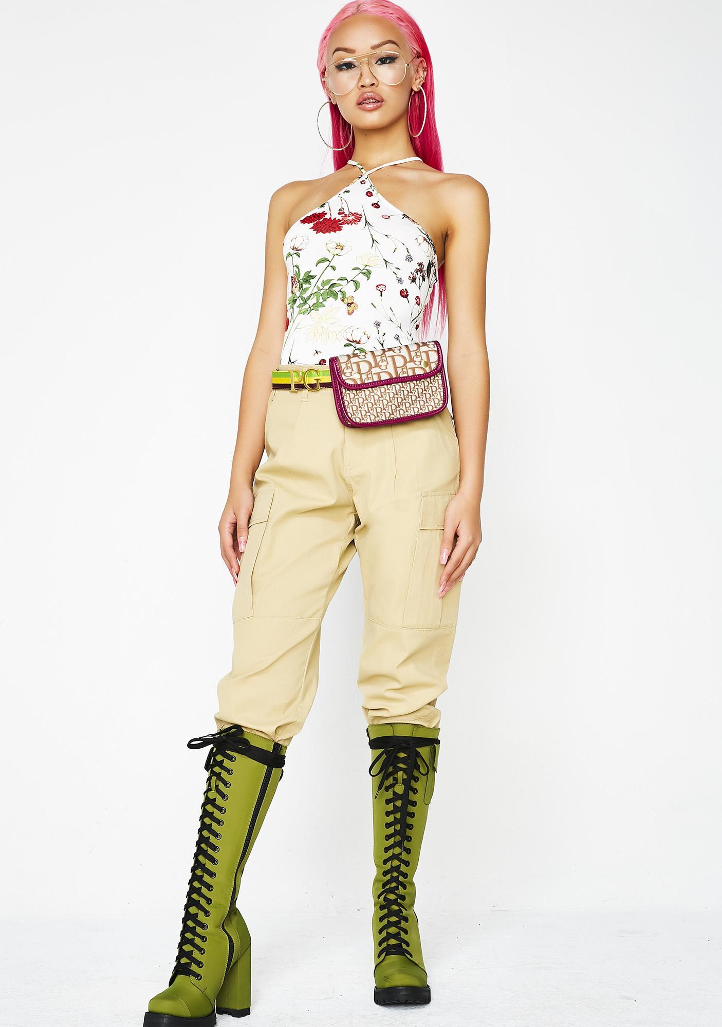In Blossom Floral Bodysuit