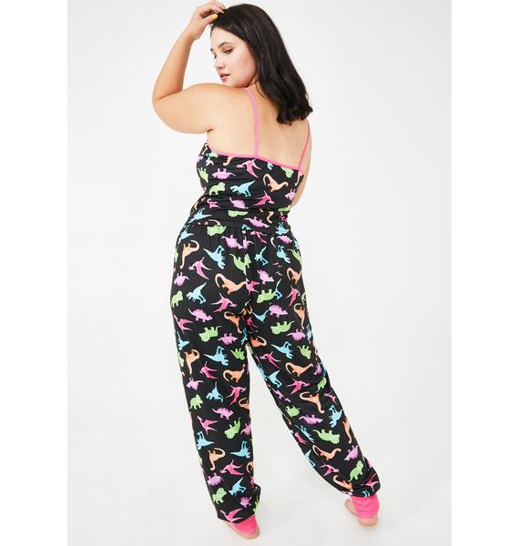 dELiA*s by Dolls Kill She's Dino-Mite Lounge Pants