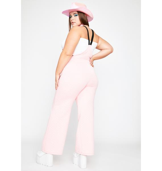 Total County Diva Quilted Overalls