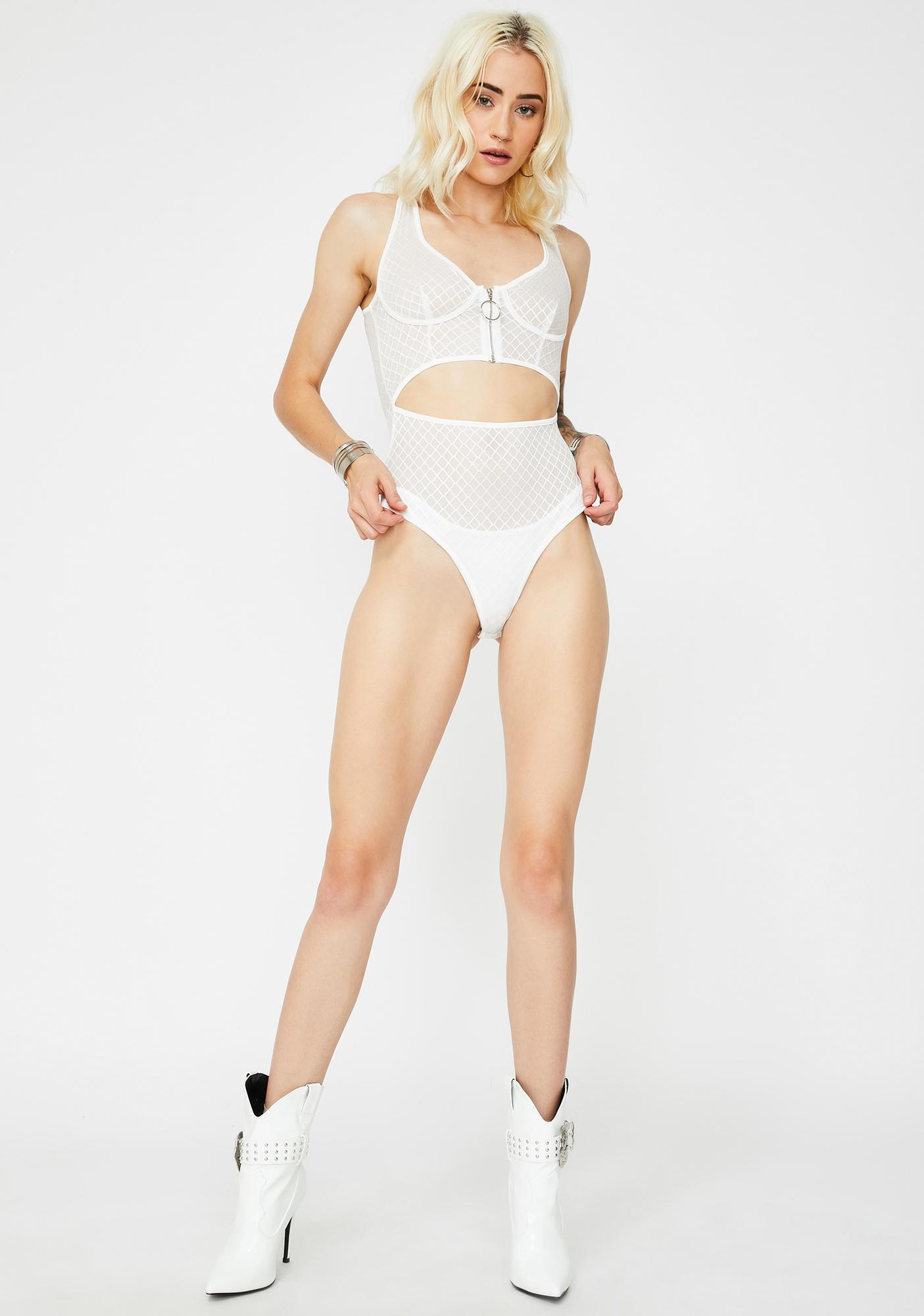 Well Behaved Cut Out Bodysuit