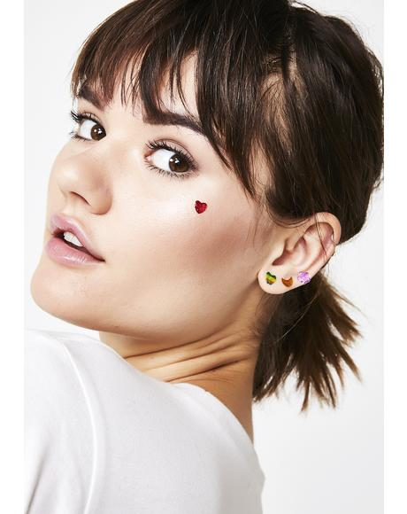 Hidden Gems Sticker Earrings Pack